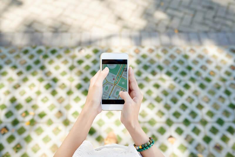 海外でもGPSを使ってGoogleマップを見ることができるの?