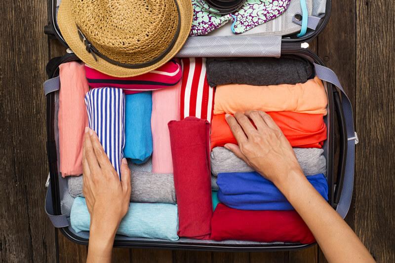 荷物の多い女性の悩みを解消!上手なスーツケースのパッキング