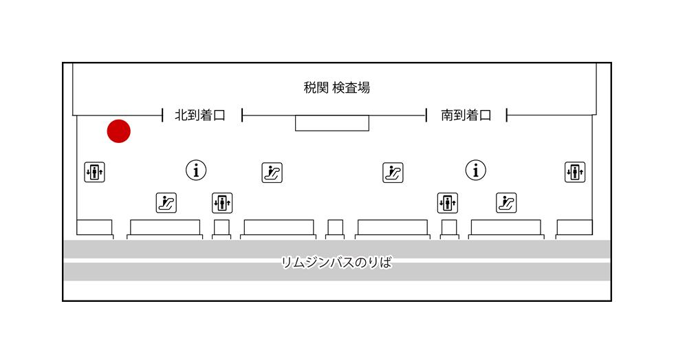関西国際空港【ご返却】JALABCカウンター